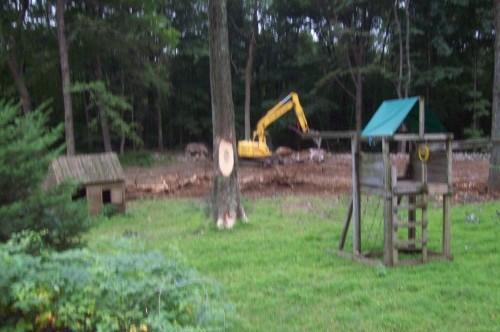 excavating 281529